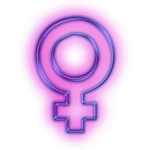 114351-glowing-purple-neon-icon-symbols-shapes-female-symbol2-sc48