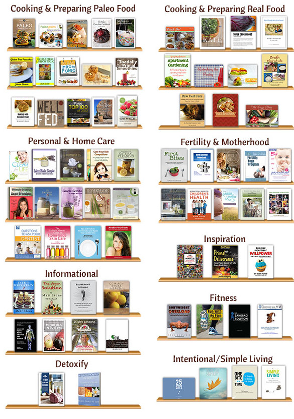 Harvest Your Health Library of eBooks_600_2columns