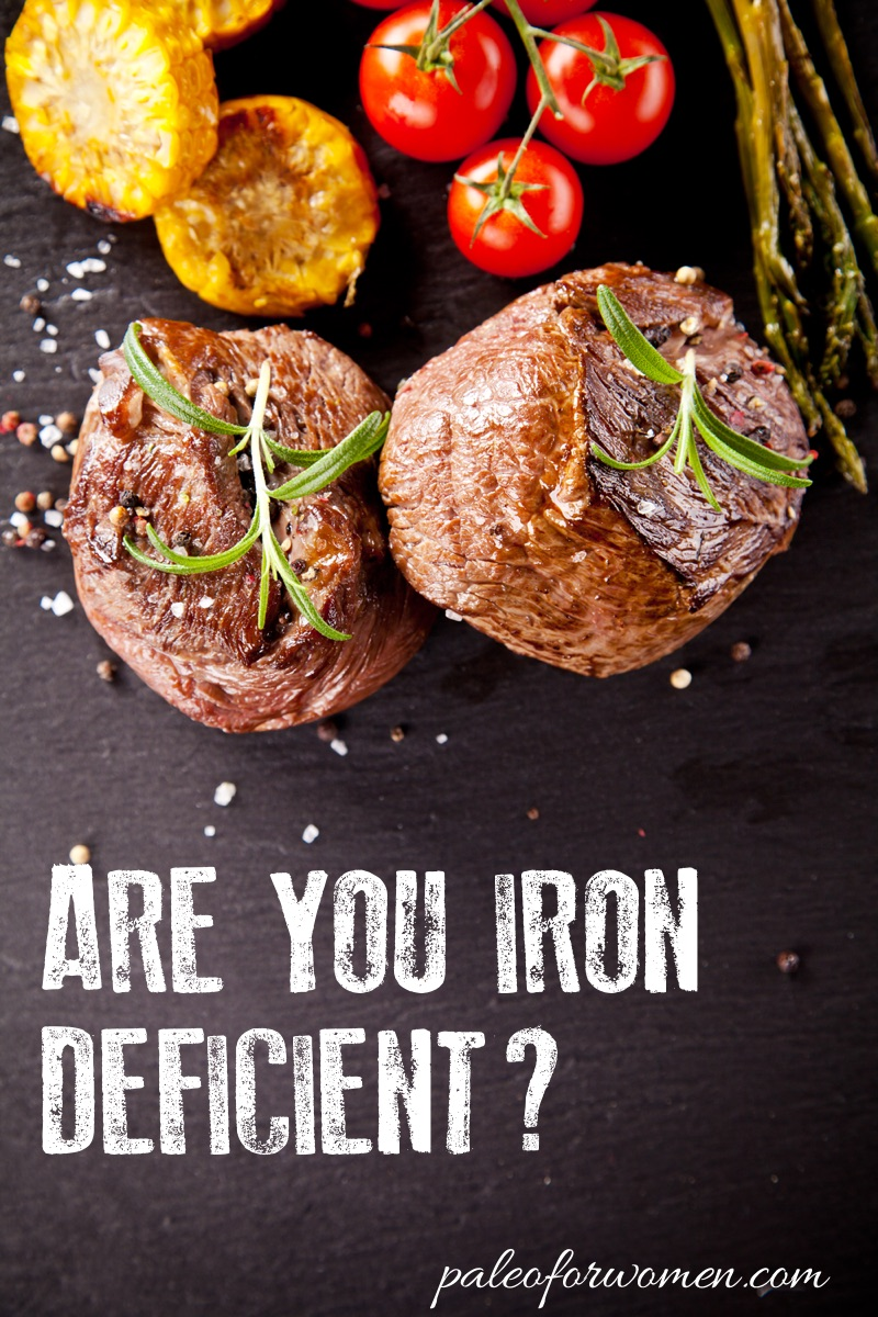 Are You Iron Deficient - Paleo for Women