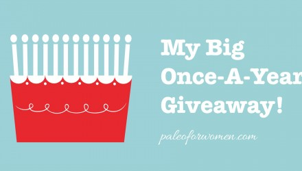 My Big Once A Year Anniversary Giveaway