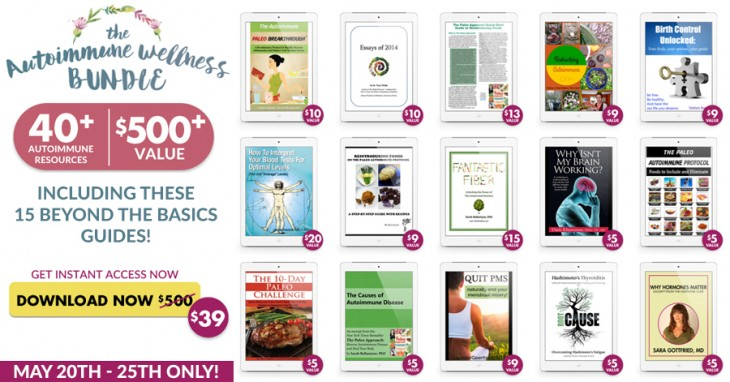 Last chance to get the autoimmune wellness bundle and today its 15 beyond the basics e books total value 132 fandeluxe Images