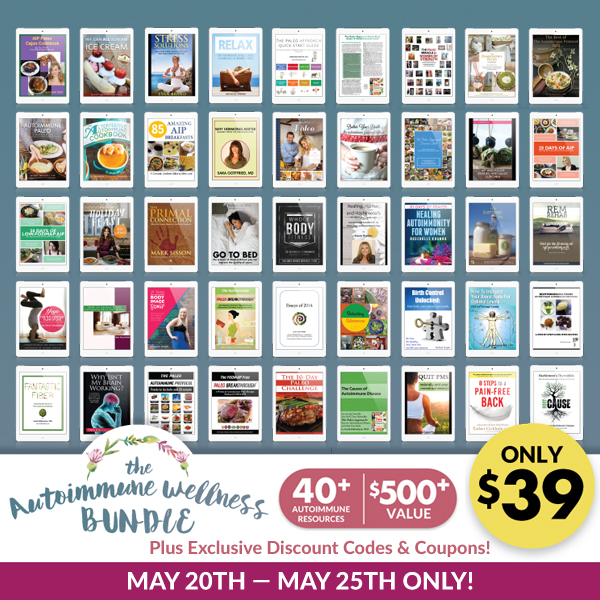 Last chance to get the autoimmune wellness bundle and today its bundle squareg fandeluxe Images