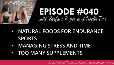 Paleo Women Podcast Episode 40