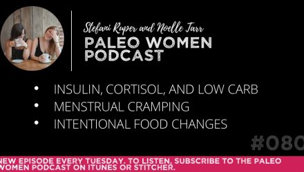 The Paleo Women Podcast Episode - 080