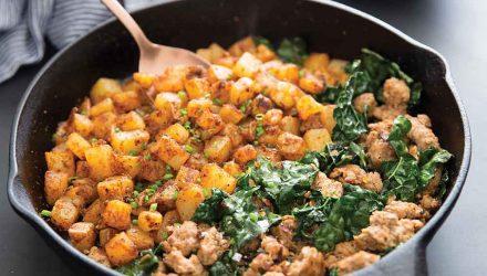 this week in paleo practical paleo home fries sausage skillet