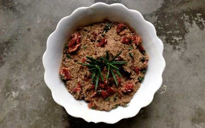 Bacon Beef Liver Pate with Rosemary and Thyme (AIP)