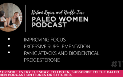 #112: Improving Focus, Excessive Supplementation, & Panic Attacks and Bioidentical Progesterone