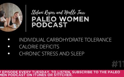 #116: Individual Carbohydrate Tolerance, Calorie Deficits, & Chronic Stress and Sleep
