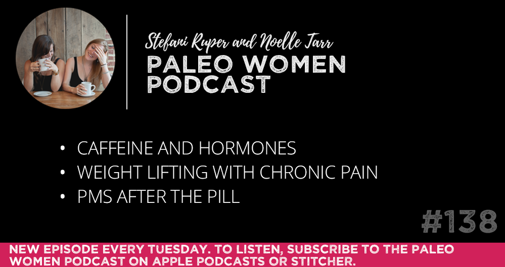 #138: Caffeine and Hormones, Weight Lifting with Chronic Pain, & PMS After the Pill