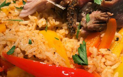 Crockpot Cajun Pork Butt With Jambalaya Rice