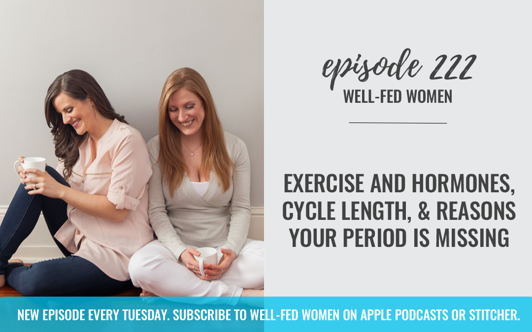#222: Exercise and Hormones, Cycle Length, & Reasons Your Period is Missing